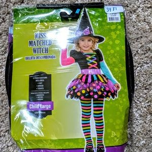 Witch Halloween costume large 12 14 girls teen